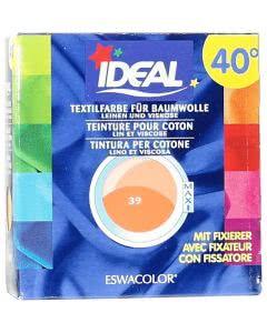 Ideal (Eswacolor) Kleiderfarben MAXI  Color No.39 orange für 400 - 800g Stoff
