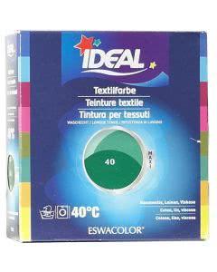Ideal (Eswacolor) Kleiderfarben MAXI  Color No.40 mittelgrün für 400 - 800g Stoff