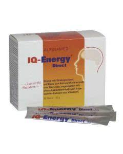 Alpinamed IQ-Energy Direct - Energie fürs Gehirn - 30 Sticks