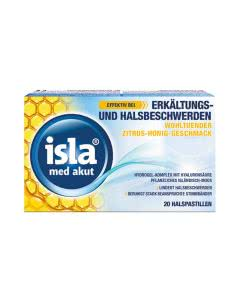 Isla Med akut Zitrus-Honig Pastillen -