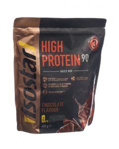 Isostar High Protein 90 Schokolade Pulver Beutel - 400g