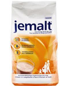 Jemalt - Malzexktrakt - Vitamine und Mineralstoffe - Nachfüllbeutel - 900g