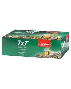 Jentschura Kräutertee 7x7 Teebeutel - 100 x 1.75 g