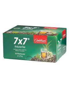 Jentschura Kräutertee 7x7 Teebeutel - 50 x 1.75 g