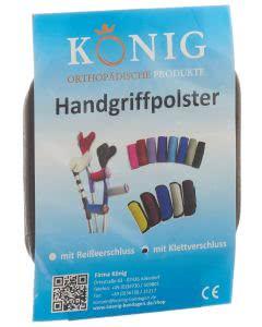 König Griffpolster Klettverschluss - 1 Paar