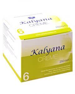 Kalyana Creme Nr. 6 mit Kalium Sulfuricum - 250 ml