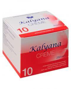 Kalyana Creme Nr. 10 mit Natrium sulfuricum - 250 ml