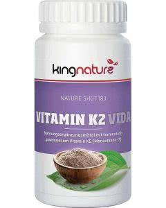 Kingnature Vitamin K2 Vida Kapseln 225 mg - 120 Stk.