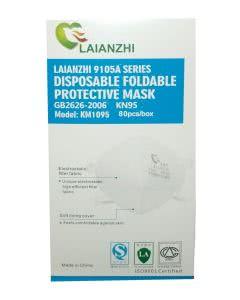 39 Rp pro Stück! Grippe AtemSchutzmasken Typ KN95 zertifiziert - 80 Stk.
