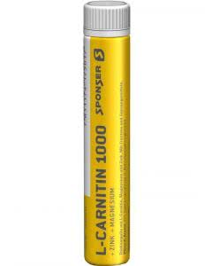 Sponser Carnitin 1000 Peach Ampulle - 30 x 25 ml