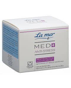 La Mer Med+ Anti Stress Nachtcreme reichhaltig ohne Parfum