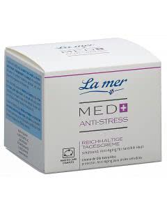 La Mer Med+ Anti-Stress Tagescreme reichhaltig ohne Parfum
