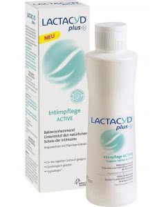 Lactacyd plus Intimpflege - active - 250ml