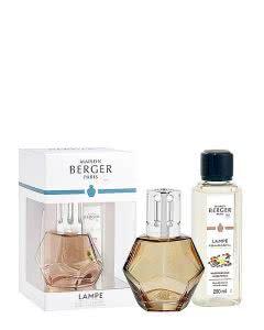Maison Berger Lampe 4716 - Set Geometry Honig und Duft Pudriger Amber