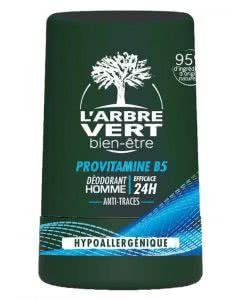 L'Arbre Vert Öko Deo Roll on für den Mann mit Vitamin B5 - 50 ml