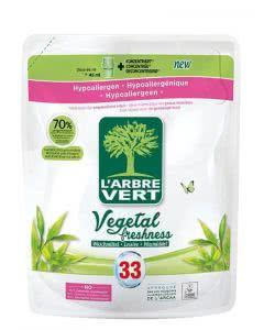 L'Arbre Vert Öko Flüssigwaschmittel Vegetal Freshness refill - 1.5 lt