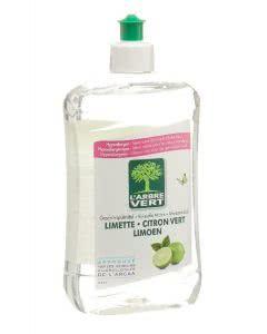 L'Arbre Vert Öko Geschirr & Hände Limette - 500 ml