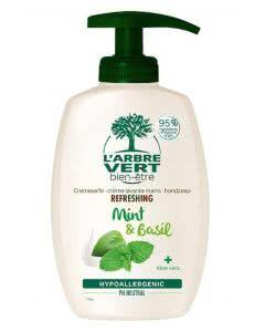 L'Arbre Vert Öko Handseife Minze-Basilikum - 300 ml