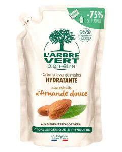 L'Arbre Vert Nachfüllbeutel Öko Handseife Bio Süssmandel - 300 ml