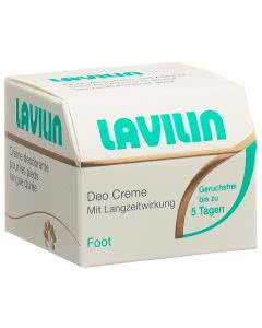 Lavilin Foot - Langzeitdeo für die Füsse - Dose - 10ml=14g