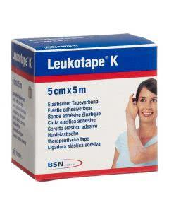 Leukotape K schwarz - 5cm x 5m