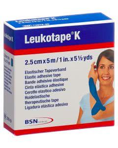 Leukotape K blau - 2.5cm x 5m - 1 Stk.