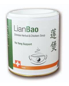 LianBao Chinese Herbal and Chicken Soup (chinesische Hühnersuppe) instant - 200g