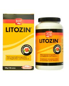 Litozin - Hagebuttenpulver - 120 Kaps.