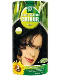 Kreson Henna Plus Long Lasting Colour Schwarz 1 - 100ml