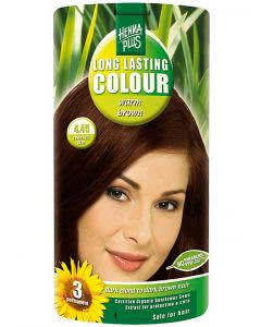 Kreson Henna Plus Long Lasting Colour Warm Brown 4.45 - 100ml