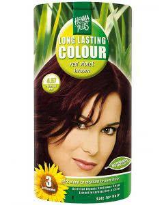 Kreson Henna Plus Long Lasting Colour Rot-Violet Braun 4.67 - 100ml