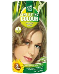 Kreson Henna Plus Long Lasting Colour Mittel Blond 7 - 100ml