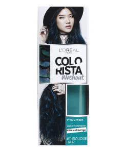 L'Oreal Colovista Washout 2 Wochen Farbe - Turquise 10 - 80ml