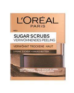 L'Oreal Dermo Expertise Smooth Sugar Scrub Maske - Kakao-Butter - 50ml