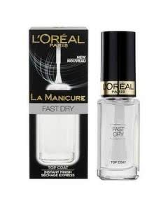 L'Oreal La Manicure Fast Dry - Top-Coat - 5ml