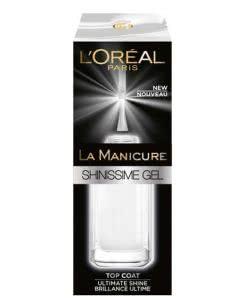 L'Oreal La Manicure Shinissme Gel - Top-Coat - 5ml