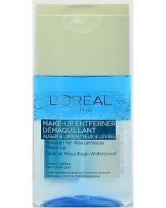 L'Oreal Make-Up Entferner - Augen und Lippen - wasserfest - 125ml
