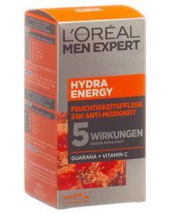 L'Oréal - men expert - Hydra Energy Feuchtigkeitspflege Anti-Müdigkeit - 50ml