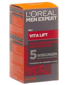 L'Oréal - men expert - Vita-Lift 5 Feuchtigkeitspflege - Anti Hautalterung - 50ml