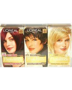 L'Oréal Preference - die Haarfarbe mit extralangem Halt und überlegenem Glanz