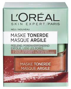 L'Oreal Skin Expert Tonerde-Maske - Rote Alge Peeling verfeinernd - 50ml