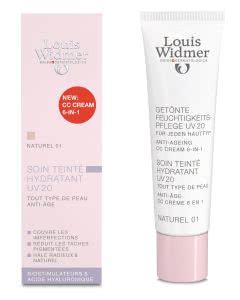 Louis Widmer - CC Getönte Feuchtigkeitspflege UV 20 - Naturel 01 - 30ml