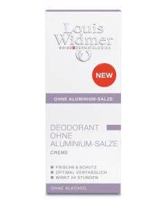 Louis Widmer - Deo Creme OHNE Aluminium parfumiert