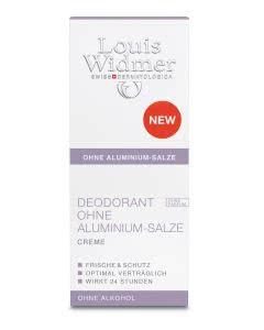 Louis Widmer - Deo Creme OHNE Aluminium unparfumiert - 40ml