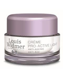 Louis Widmer - Crème Pro-Active Light Nachtpflege parfumiert - 50ml