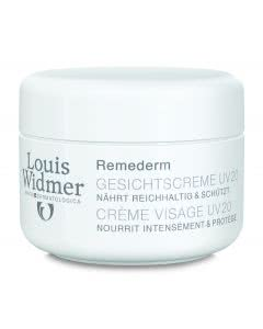 Louis Widmer - Remederm Gesichtscreme - UV 20 parfumiert - 50ml