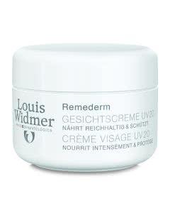 Louis Widmer - Remederm Gesichtscreme - UV 20 unparfumiert - 50ml