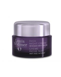 Louis Widmer - Rich Night Cream parfumiert - 50ml