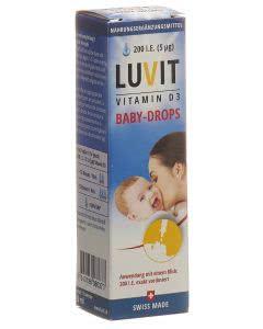 Luvit Vitamin D Baby-Drops Tropfflasche - 10 ml