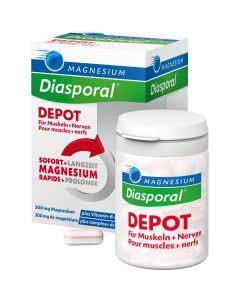 Magnesium Diasporal Depot 300mg + B-Vitamine - 30 Tabl.